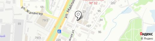 Чайка, булочно-кондитерский магазин на карте Алматы