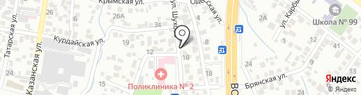 У Маке на карте Алматы
