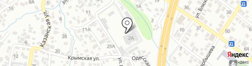 Автобусный парк №4, ТОО на карте Алматы