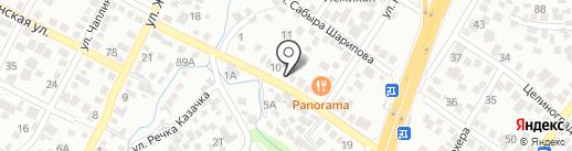 Зейнаб на карте Алматы