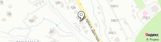 Почетное консульство Королевства Таиланд на карте Алматы