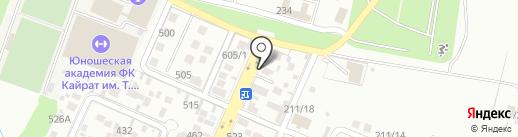 ParCoS на карте Алматы
