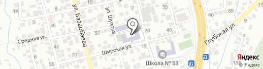 Специальная (коррекционная) школа-интернат №6 для детей с интеллектуальными нарушениями развития на карте Алматы