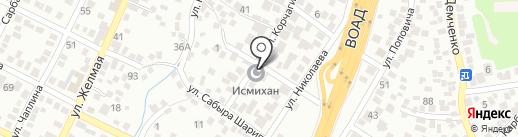 Исмихан на карте Алматы