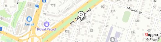 Бойко на карте Алматы