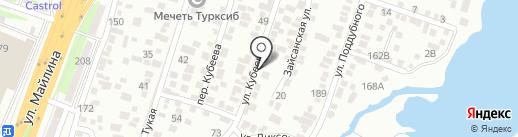 Биби на карте Алматы