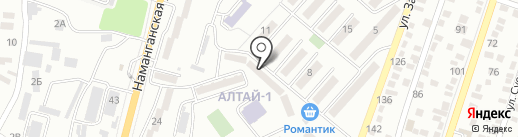 Рассвет на карте Алматы