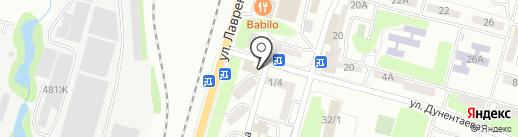 Сад на карте Алматы