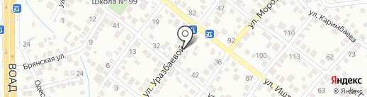 Даулет на карте Алматы