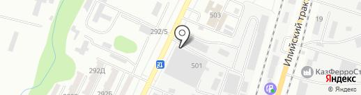 СВС-Модуль на карте Алматы