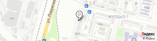 Видеоконтроль на карте Алматы