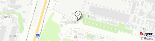 Коктем, ТОО на карте Алматы