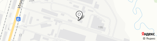 KazCryoGaz, ТОО на карте Алматы