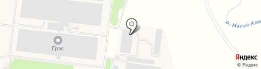 Производственная компания на карте Отегена Батыра