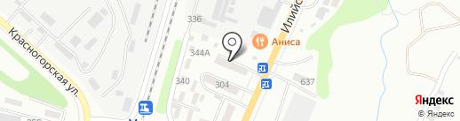 Барвинок на карте Алматы