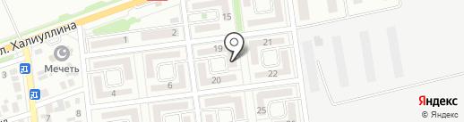 КазИнвестСпецСталь на карте Алматы