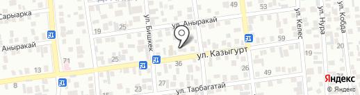 Участковый пункт полиции №84 Медеуского района на карте Алматы
