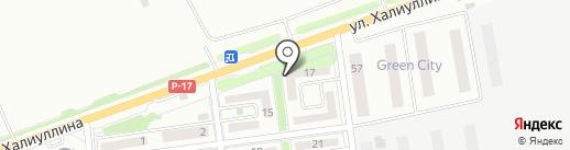 Адемай на карте Алматы