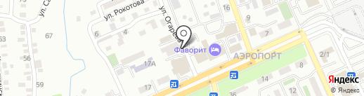 Бакалея на карте Алматы