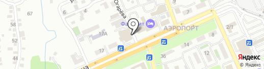 Карлыгаш на карте Алматы