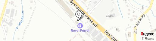 Royal Petrol на карте Алматы