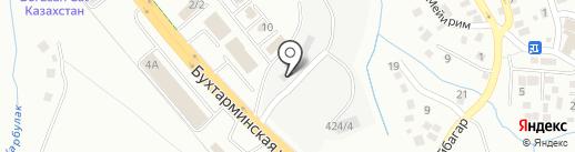Мега транс бетон на карте Алматы