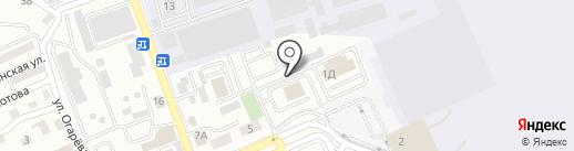 Адоорс на карте Алматы
