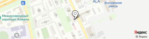Transfer apartaments на карте Алматы