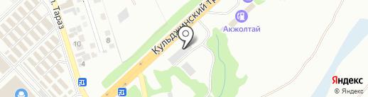 Creat3d, ТОО на карте Алматы