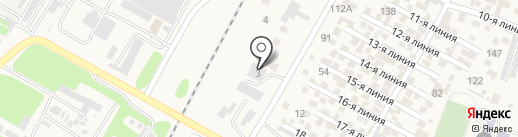 Центральная баня на карте Отегена Батыра