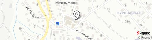 Строительный магазин на карте Алматы