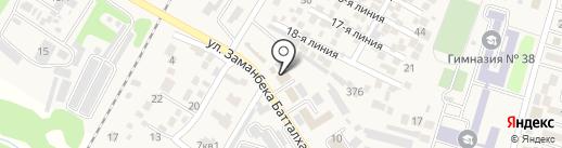 Прокуратура Илийского района на карте Отегена Батыра