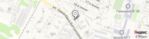 Илийский районный суд на карте Отегена Батыра