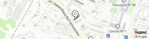 Отдел полиции УВД Илийского района на карте Отегена Батыра