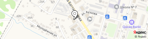 Бак-Даулет, ТОО на карте Отегена Батыра