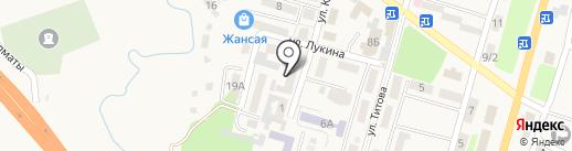 Центр санитарно-эпидемиологической экспертизы Илийского района на карте Отегена Батыра