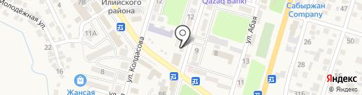 ВКШММ на карте Отегена Батыра