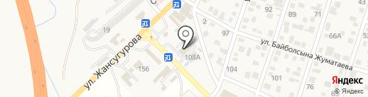 Магазин автозапчастей на карте Отегена Батыра