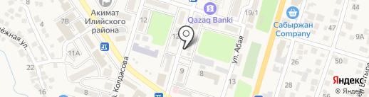 Эффект на карте Отегена Батыра