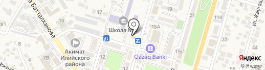 Нур Отан, партия на карте Отегена Батыра