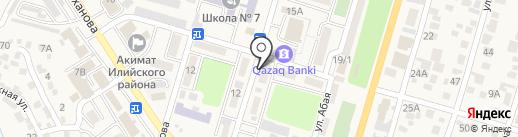 Sandi Beksirga на карте Отегена Батыра