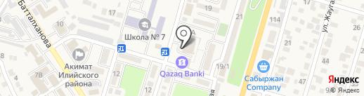 Столовая на карте Отегена Батыра