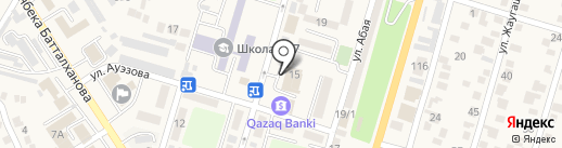 Автошкола на карте Отегена Батыра