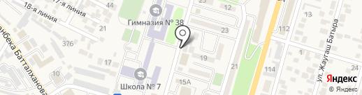 Niyet Doner на карте Отегена Батыра