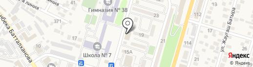 Динамит на карте Отегена Батыра
