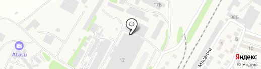 Айналайын на карте Отегена Батыра