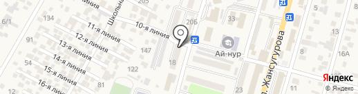 Элида на карте Отегена Батыра