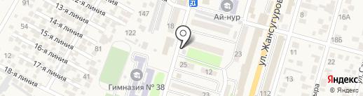 Billion Авто Ломбард, ТОО на карте Отегена Батыра