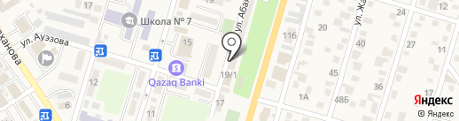 Сулу на карте Отегена Батыра