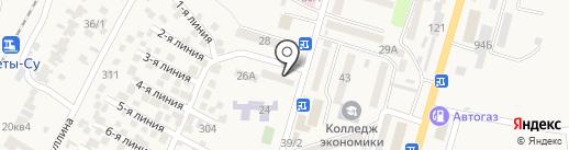Курочка Ряба на карте Отегена Батыра